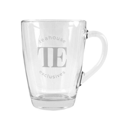 Tea üvegpohár alátét